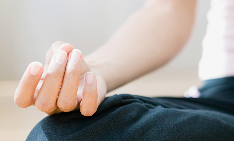 Restorative healing yoga