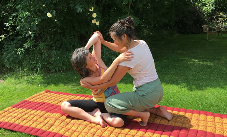 Traditionele Thaise Yogamassage